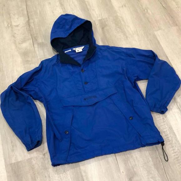 Columbia Pull-Over Wind Breaker Jacket Men's L